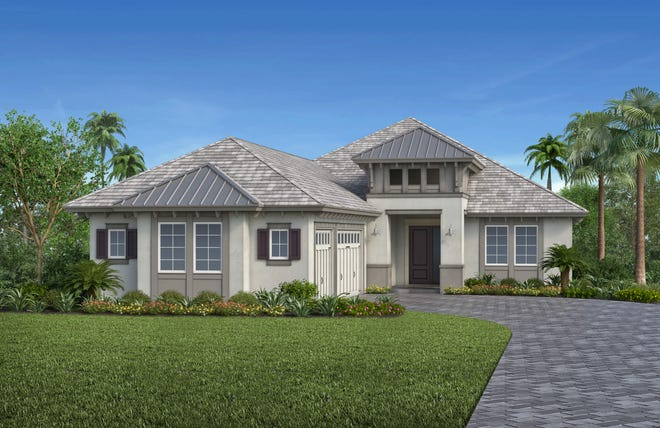 Vogue Interiors' Salvatore Giso is creating the interior design for Stock Signature Homes' furnished Birchwood III model at the Isles of Collier Preserve.