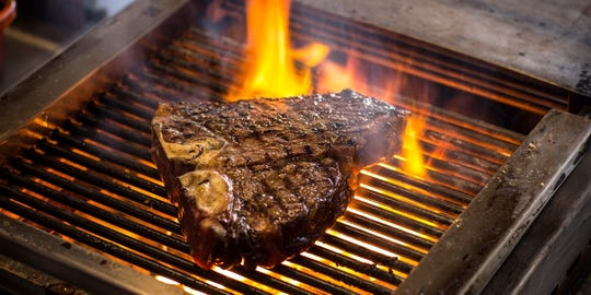 The Double Eagle Restaurant,2355 Calle De Guadalupe in Mesilla, is offering a mouth-watering beef andbourbon special vaquero T-bone steak with specialty whiskey for Father's Day.