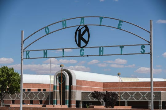 Oñate High School is pictured in Las Cruces on Wednesday, June 17, 2020.