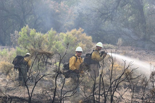 After several months of dry weather, conditions are ripe in San Juan County for wildland blazes like the Arroyo Fire that burned on July 1, 2019, near County Road 4800.