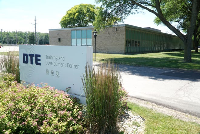 The DTE Training and Development Center off Cherry Hill Road.