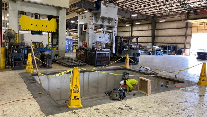 As part of a $1.7 million investment, PTM Corporation will add new truck wells to its plant,  is preparing for the expansion of prototype press lines, is adding a prototype facility crane expansion and more to its Ira Township facility.