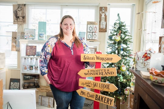 Danielle McLaren, owner of The Craft Loft - St. Clair, is participating in the Michigan Economic Development Corporation's MI Local Biz program where money raised through the community will be matched by the MEDC, for McLaren's business up to $4,000.