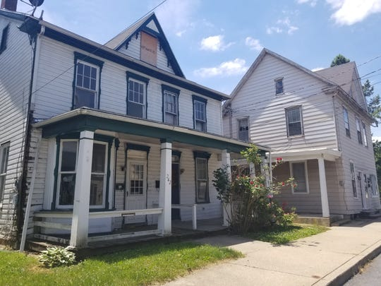 Franklin County has been approved for funding for a project in the Borough of Waynesboro to improve blighted properties at 242-244 and 246 W. Second St.