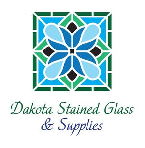 Dakota Stained Glass' logo