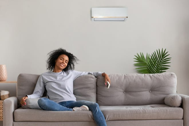 Enjoy a comfortable living space year-round and save money on utility bills with a heat pump unit.