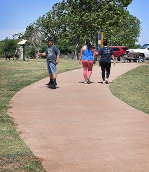 Repair work begins this week on part of the Circle Trail.