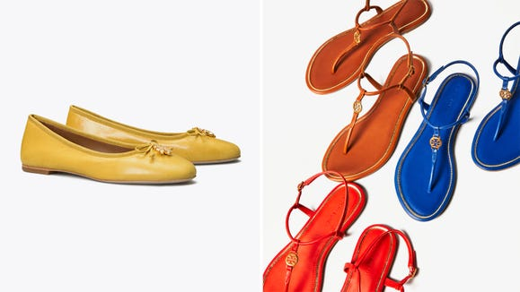 Obsessed with Tory Burch's iconic shoes? Get thee to this sale, pronto.