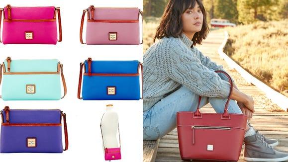Dooney & Bourke's Summer Getaway sale includes plenty of colorful styles.