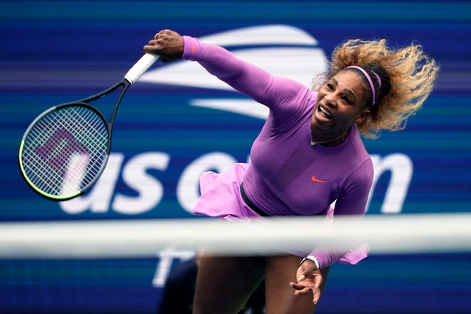 Serena Williams returns a shot to Bianca Andreescu, of Canada, during the women's singles final at the 2019 US Open. Serena Williams is planning to play in the 2020 U.S. Open.
