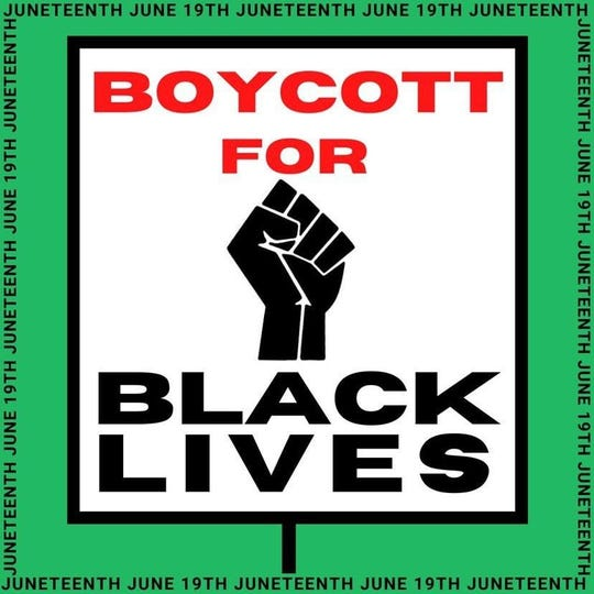 The organizers for Boycott For Black Lives encourage people to continue the efforts until the targeted companies change their policies or practices.