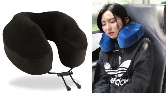 Travel pillow.