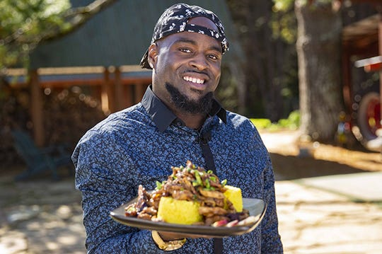 Clarence Robinson, owner of Cooking With Comedy.