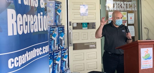 Rolando Salinas, senior marketing manger for Reliant Energy, said the electric company and Corpus Christi Parks and Recreation Department have partnered for 11 consecutive years on June 18.