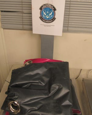 U.S. Customs and Border Protection officers in Cincinnati say they recently seized two shipments of cocaine with a street value of $638,000 concealed in shower curtains and posters.