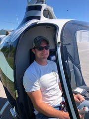 Ryan Erb is one of the first students in Austin Peay's new aviation science program. He's also a Hopkinsville, Kentucky, firefighter.