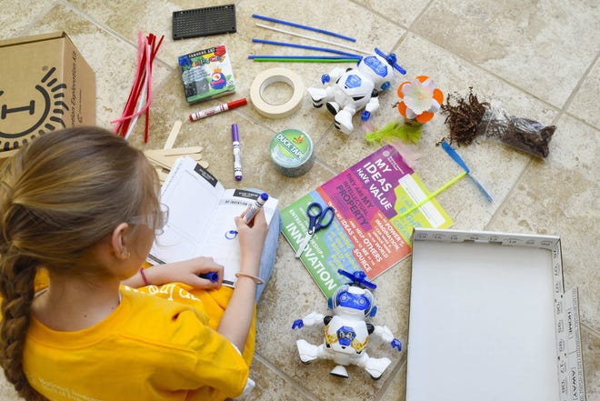 More than 200 local students, grades K-6, can take part in Camp Invention in July. The summer enrichment program will use virtual learning and rely on hands-on activities, which promotes STEM learning.