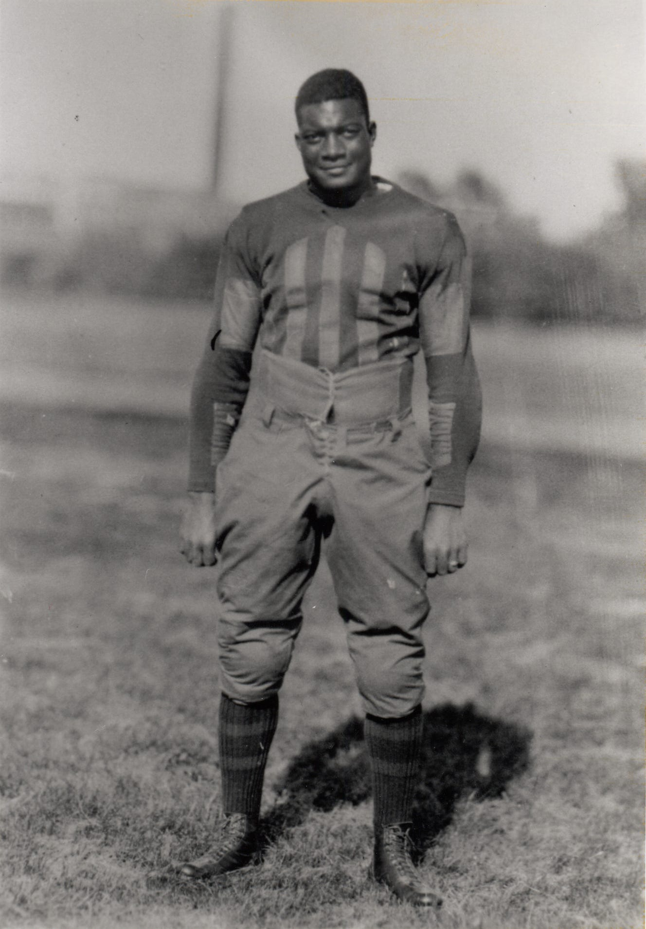 Jack Trice, shown here in a school photo.