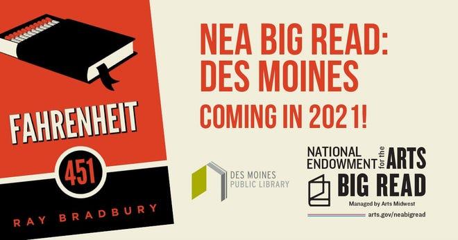Des Moines Public Library takes on Fahrenheit 451 classic novel by Ray Bradbury.