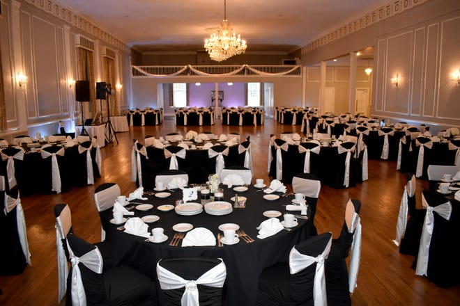 Meeting House Ballroom in Plymouth. (Tracy & Todd Osann, Special to the Free Press)