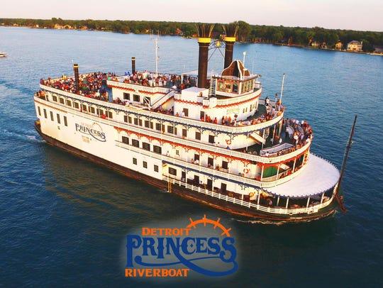 The Detroit Princess riverboat