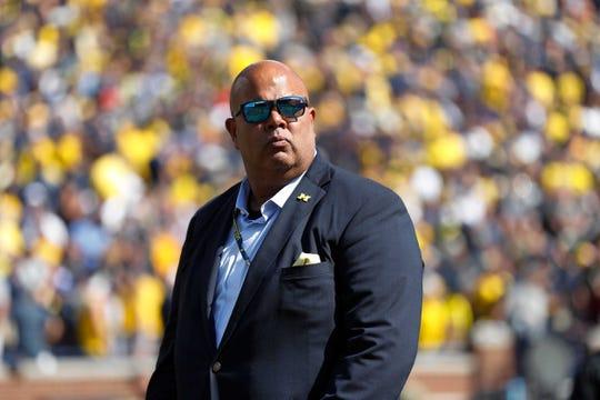 Michigan athletic director Warde Manuel