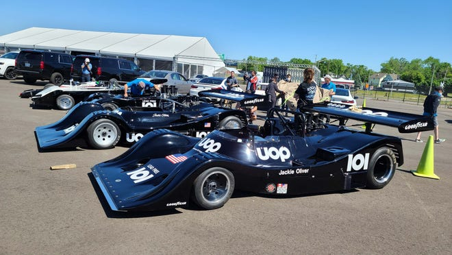 """The 2021 American Festival of Speed will carry the theme, """"Past, Present, and Future,"""" show-casing classic from yesteryear - like these Shadow Can Am cars - and current models."""