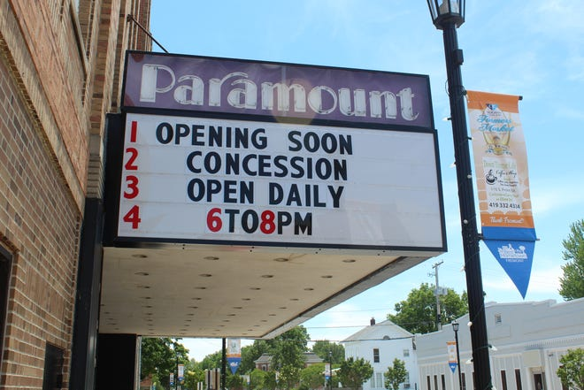 Paramount Cinema on South Front Street will be reopening Friday after being closed several months due to the state's executive order.