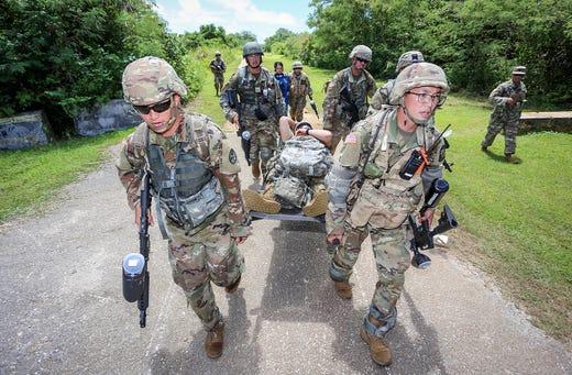 Photo of UOG cadets