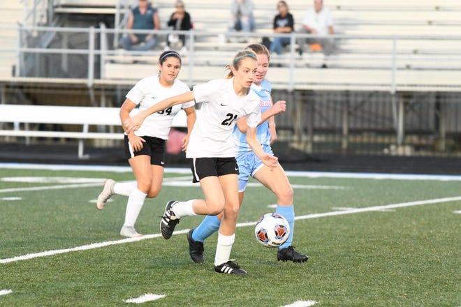 Faith Christian sophomore midfielder Alli Holder recently won a 5K race that included the Tippecanoe County soccer teams.