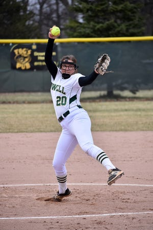 Molly Carney pitched Howell into the state semifinals in 2018 and state championship game in 2019.