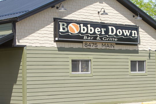 Pure Bud/Pure Market has proposed a recreational and medical marijuana facility at the Bobber Down Bar & Grille building on Main Street in Whitmore Lake, shown Thursday, June 18, 2020.