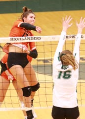 Ceila Cullen of Brighton was a second-team All-American in volleyball in 2019.
