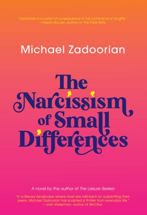 """""""The Narcissism of Small Differences"""" book cover."""