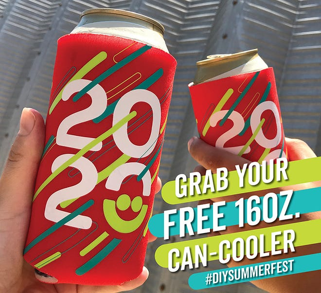 Summerfest is giving away can coolers that had been meant for the now-canceled 2020 lakefront festival