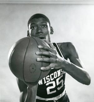 Joe Franklin was a first-team all-Big Ten selection as a senior in 1967-68, when he averaged 22.7 points and 13.9 rebounds per game