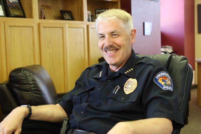 Farmington Police Department Chief Steve Hebbe