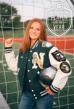 Novi's Avery Fenchel was named the Gatorade Michigan Soccer Player of the year.
