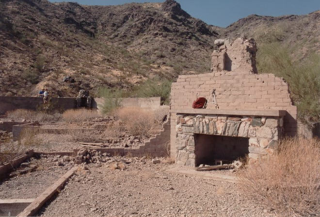 Ruins of the Lost Ranch located in South Mountain Park.