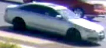 Phoenix police believe the suspects in a shooting on June 14, 2020, were driving this car.