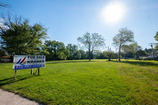 The city is proposing using federal HUD dollars to build infrastructure that would enable a future housing development on a piece of county-owned land off of 10th Avenue in Port Huron.