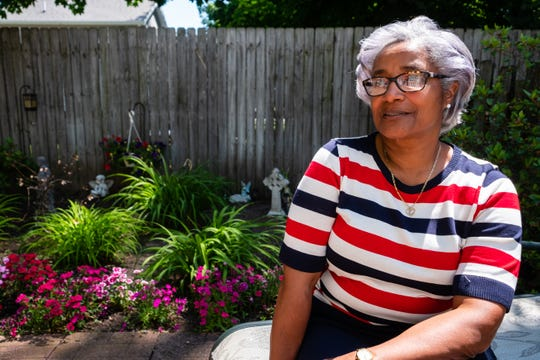 Port Huron City Councilwoman Anita Ashford poses for a portrait Tuesday, June 16, 2020, in her Port Huron home. Earlier this month, Ashford asked council members to formally condemn the killing of George Floyd and declare racism a public health crisis. The resolutions passed unanimously June 8.