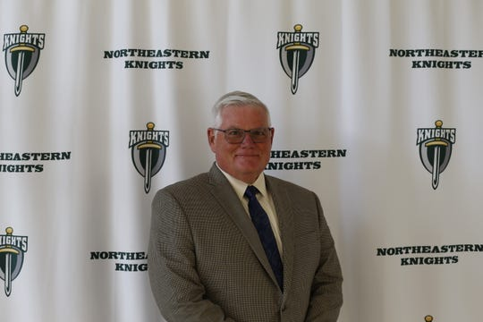 Mark Childs was approved as principal of Northeastern High School on Wednesday night.