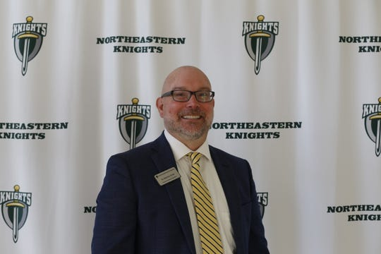 Dr. Matthew Hicks was approved as Northeastern Wayne Schools' superintendent on Wednesday night after two years as the high school's principal.