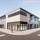 This is a rendering of the former Computer Logistics building in downtown Redding.