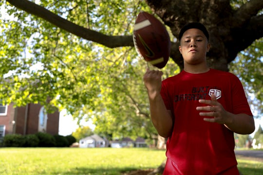 North Salem High School incoming freshman TC Manumaleuna II has already received a scholarship offer from the Oregon Ducks. He's 14 years old.