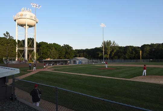 The Sartell Stone Poneys hosted the Becker Bandits in their home opener Wednesday, June 17, 2020, at St. Cloud Orthopedics Field in Sartell. The Bandits won 13-4.