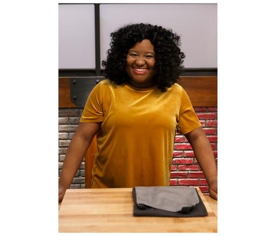 Ariel Robinson, as seen on Worst Cooks in America, Season 20.