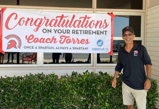 Rick Torres is retiring after an illustrious career coaching at teaching at Rio Mesa High.