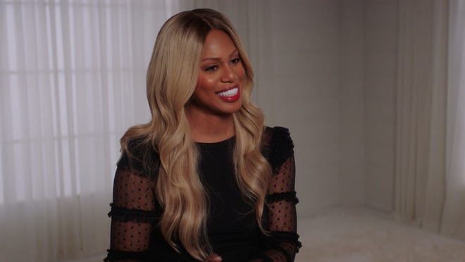 "Laverne Cox executive produces and appears in Netflix's new transgender media history documentary, ""Disclosure."""